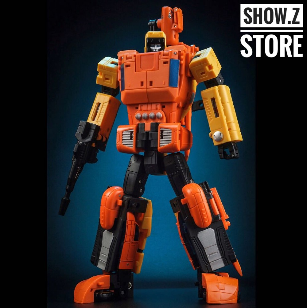 [Show.Z Store] Unique Toys UT Y-03 Y03 Sworder Sandstorm Transformation Action Figure
