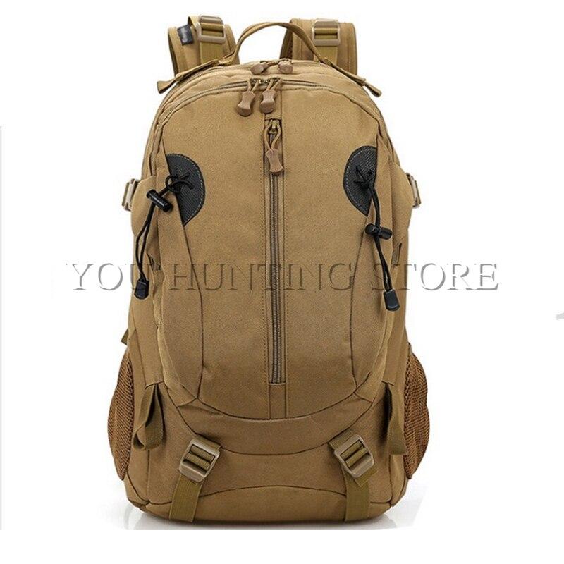 Livraison gratuite tactique 40L sac à dos Sports de plein air militaire sac à dos sac à bandoulière noir