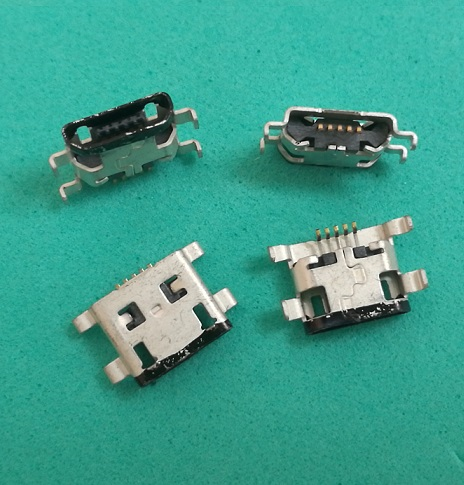 500pcs lot Micro USB Charging Power Jack Port charger Connector for Motorola Moto G XT937C XT1028