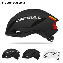 CAIRBULL nowy do szybkiej jazdy na rowerze kask rower szosowy wyścigowy aerodynamika kask pneumatyczny mężczyźni sport Aero kask rowerowy Casco Ciclismo tanie tanio (Dorośli) mężczyzn N-CAIRBULL-02 Approx 290g 8-15 Integrally-molded Helmet PC+EPS+inner pad black black red black white white