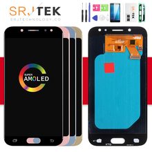 AMOLED/TFT J530F Screen For Samsung GALAXY J5 2017 Display J530 LCD SM-J530F Display Touch Digitizer Glass Assembly J5 2017 LCD oem lcd display touch screen digitizer assembly for samsung galaxy j5 j5008 17pin white black gold with tempered glass tools
