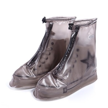 ae0016043d7 Funda de zapatos Demine impermeable ciclismo hombres mujeres al aire libre  deporte antideslizante reutilizable lluvia zapato cubierta cierre de  cremallera