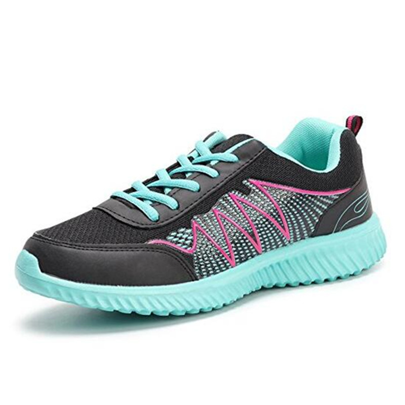 Women outdoor Athletic Running shoes women light weight breathable Trekking shoes sneakers lady Anti-slippery sport shoes