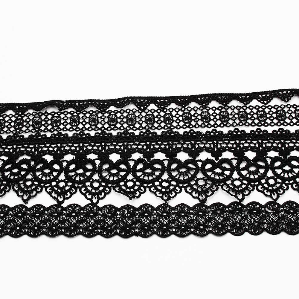 Classico Tatuaggio Gotico Del Merletto Choker Della Collana Delle Donne 8 Pezzi Della Collana Del Choker Set di Stirata del Velluto delle donne collana dei monili del regalo