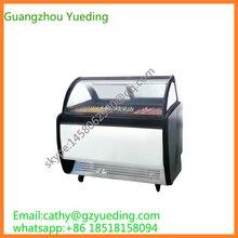 Одобренная CE Высококачественная серийная ледяное мороженое на палочке дисплей морозильник на продажу