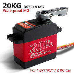 1 x Wasserdichte servo DS3218 Update und PRO high speed metal gear digitale servo baja servo 20 KG/. 09 S für 1/8 1/10 Skala RC Autos