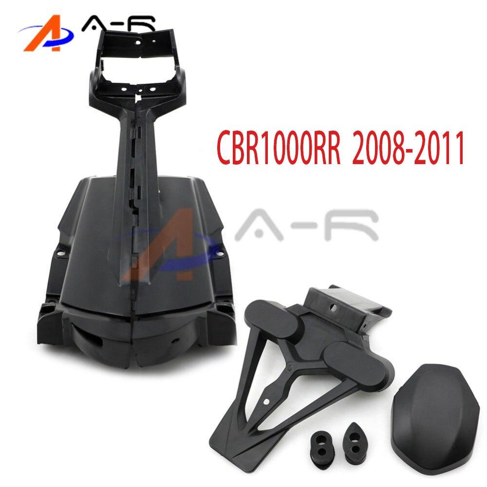 Rear Fender Mud guard License Plate Bracket turn light taillight holder for Honda CBR1000RR CBR1000 RR