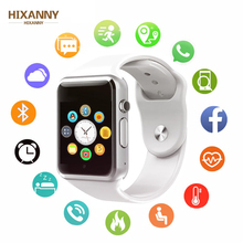 HIXANNY New Smart Watch Clock Sync Notifier Support SIM TFCard Connectivity Apple iphone Android Phone Women Men Smartwatch GT08