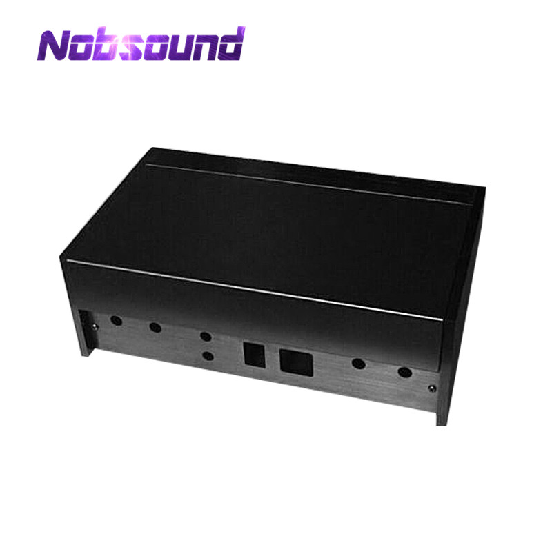 Nobsound High End Aluminum Case Chassis Enclosure Power Amplifier Cabinet DIY