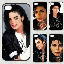Майкл Джексон подпись моды телефон Case cover для iphone 4 4S 5 5S 5C SE 6 плюс 6 s плюс 7 7 плюс и zz200