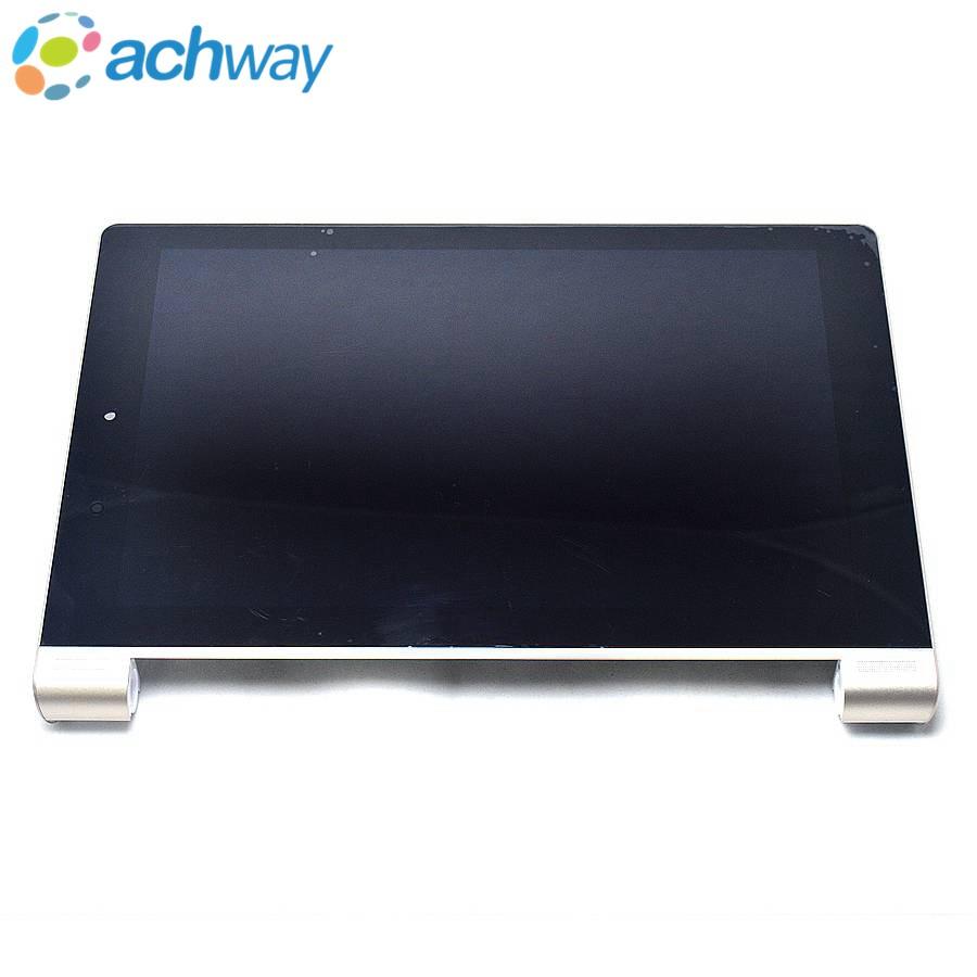 Prix pour Pour Lenovo YOGA 10 B8080 LCD Affichage à L'écran Tactile Digitizer Assemblée Avec Cadre Pour Lenovo B8080-H B8080-F LCD de Remplacement