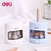 Deli 0502 Electric pencil sharpener Home Office School  mechanical pencil sharpener  Office school supplies цена в Москве и Питере