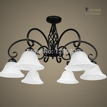 여러 샹들리에 단철 램프 유럽 모델 낮은 거실 침실 식당 램프 새로운 프로모션 zx64 lo1019