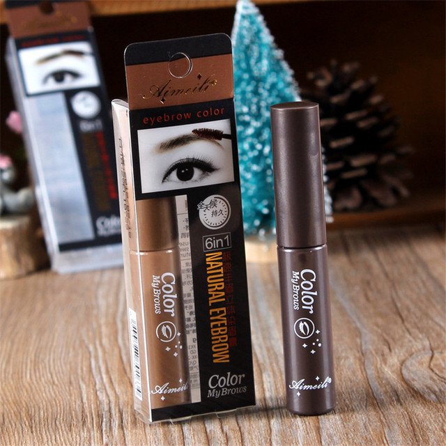 3 Colors Long Lasting Waterproof Eyebrow Mascara Cream Eye Brow Shadow Makeup Beauty Comstic Tools with Brush 3