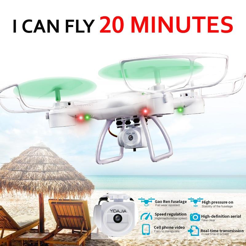 HY66W Quadrocopter Drones cu camera HD Dron 20 minute timp de zbor - Jucării cu telecomandă