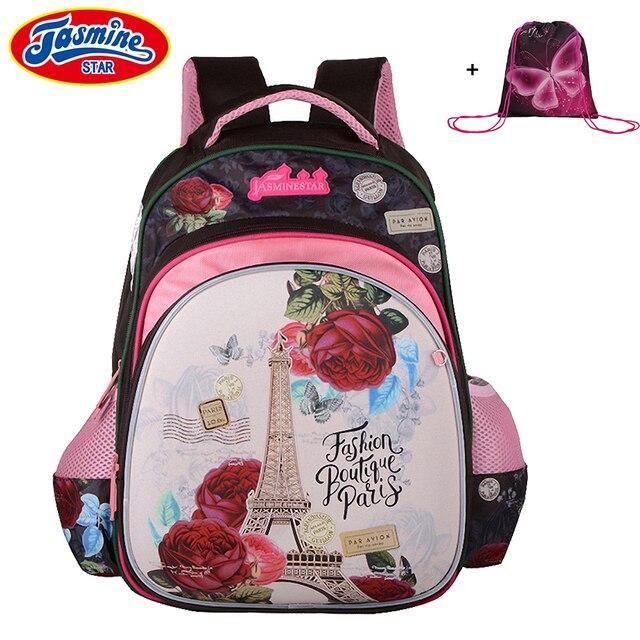 155c661743fb JASMINESTAR школьные сумки для девочек Мультфильм Ортопедические рюкзаки  для ноутбука школьные большие емкости детские школьные сумки