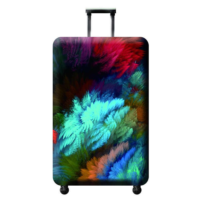 Lxhysj elasticidade bagagem capas de proteção capa de bagagem adequado para 18-32 polegadas mala caso acessórios de viagem