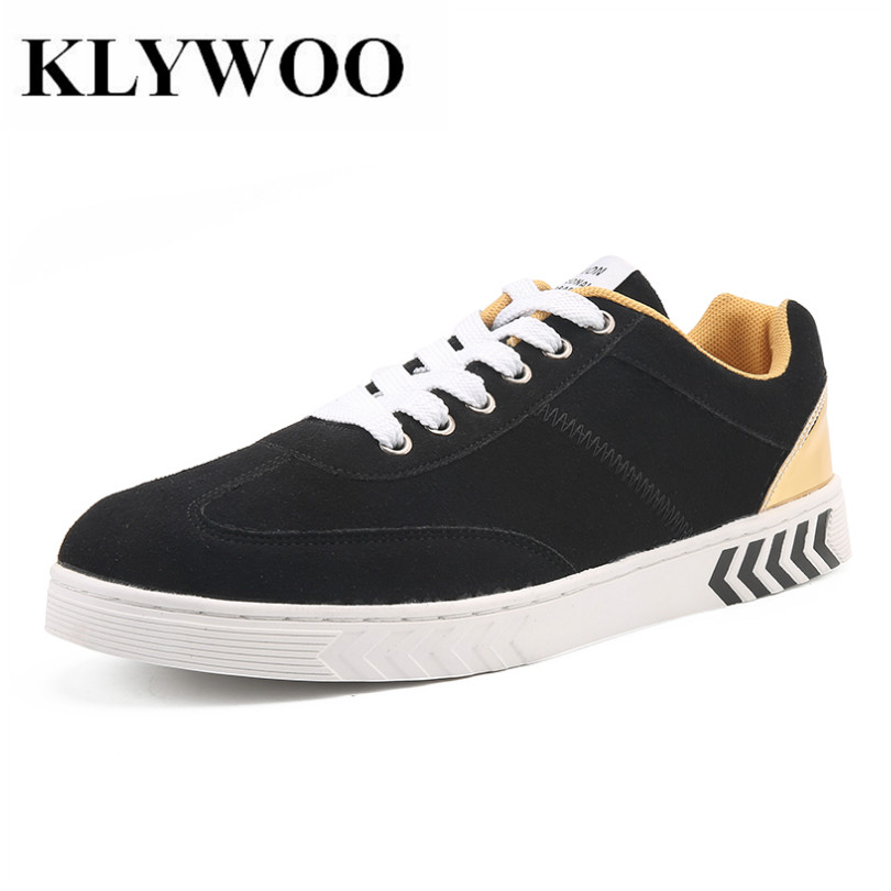 KLYWOO Big Size 39-47 Brand Suede Leather Shoes Men Breathable Lace Up Fashion Mens Casual Shoes Comfortable Sneakers Men Shoes maden brand 2017 spring autumn designer fashion mens casual shoes lace up comfortable suede driving shoes breathable male shoes