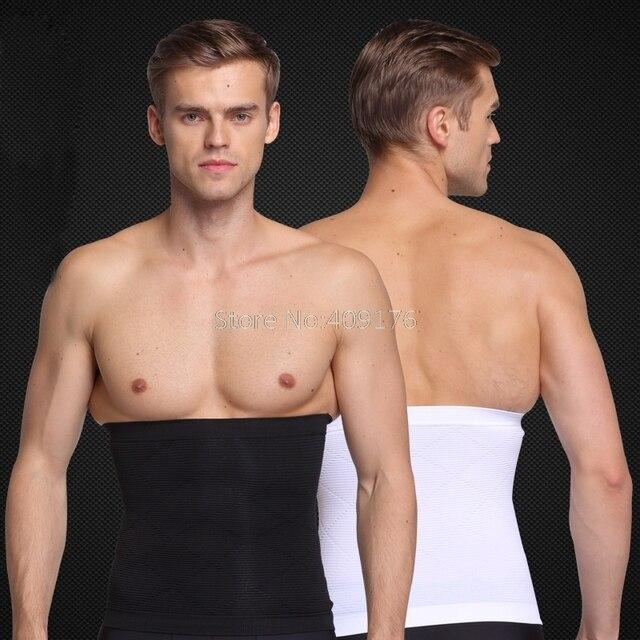 PRAYGER New Men Slimming Belly Shaper Belt Control Waist Tummy Trimmer Corset Seamless Boneless Body Shaper Girdle 5