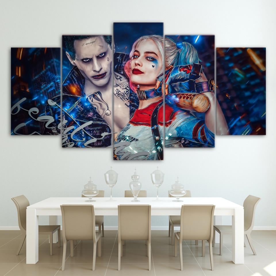 Hd Imagem Quadro 5 Painel De Arte Da Parede De Decora O Para Casa  -> Arte Parede Sala