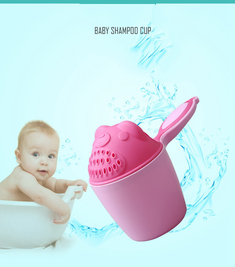 MOTOHOOD Cartoon Baby Shampoo Cup Shower Water Spoon Infant Children Wash Hair Head Cup Kid Bathing Beach Toy For Kids  (3)
