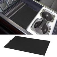 Secret Compartment Cover Center Console Organizer Tray for 2014 2018 GMC Sierra 1500 2500HD 3500HD Denali Chevy Silverado Hidden