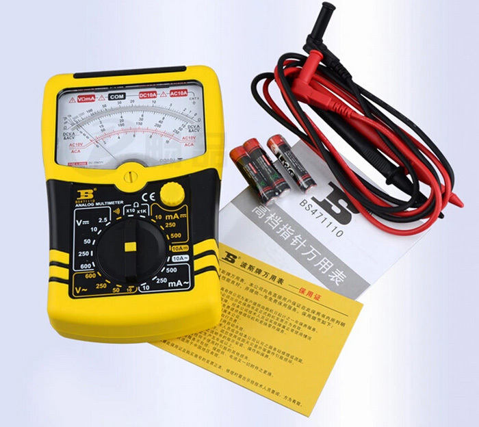 ФОТО free shipping BOSI High-grade pointer Multimeter