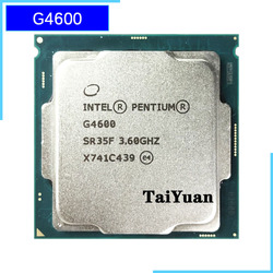 Intel Pentium G4600 3.6 GHz Dual-Core Quad-Thread CPU Processor 3M 51W LGA 1151