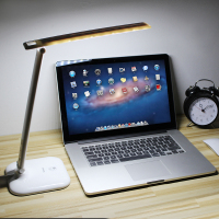 Factory wholesale Eyesight Protection LED Reading Desk Lamp low blue light led desk lamp with touch dimmer EU plug