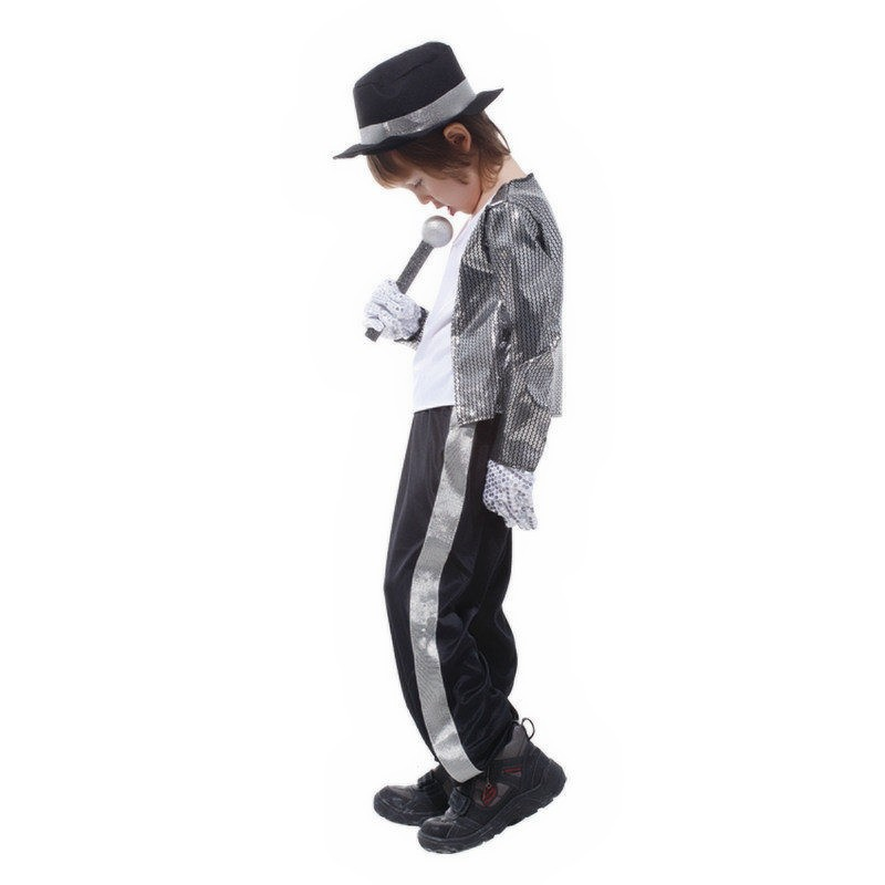 Kids Michael Jackson Thriller Fancy Dress Costume-in Boys Costumes from Novelty u0026 Special Use on Aliexpress.com | Alibaba Group  sc 1 st  AliExpress.com & Kids Michael Jackson Thriller Fancy Dress Costume-in Boys Costumes ...