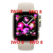 IWO 8 Sport zegarek 44mm skrzynka dla Apple telefon z systemem Android IOS zegarek do fitness czerwony przycisk lepiej niż IWO 5 7 smart watch nie zegarka APPLE WATCH tanie tanio Passometer Uśpienia tracker Tętna Tracker 24 godzin instrukcji Tracker fitness Wiadomość przypomnienie Interaktywne Muzyki