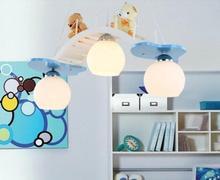 Детям игрушки современный контракт дети спальня лампы и фонари Прекрасный творческий мультфильм лампы Дети девушка принцесса номера освещения