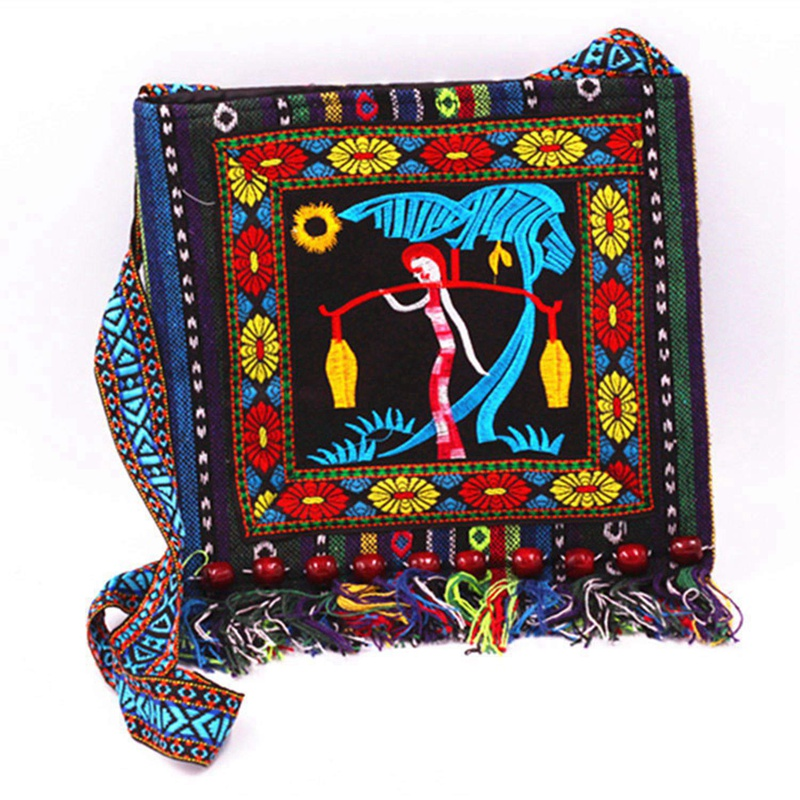 HTB1Wn7HdROD3KVjSZFFq6An9pXag - Vintage Style Ethnic Shoulder Bag Embroidery Boho Hippie Tassel Tote Messenger