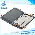 1 peça frete grátis testado tela de substituição de peças de reparo 4.3 polegada para nokia lumia 820 n820 display lcd com tela de toque + quadro