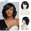 Черные Короткие Парики Из Синтетических Волос Для Чернокожих Женщин Афро-Американских черный Парик Парики Из Натуральных Волос Для Женщин Короткие Вьющиеся Афро парик