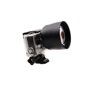 Image 4 - JINSERTA 52mm Zoom Lens for Gopro Digital Camera DSLR Accessory 2.2x Zoom Lens Telephoto For Gopro Hero 5 6 3+ 4 Xiaoyi 4Ki
