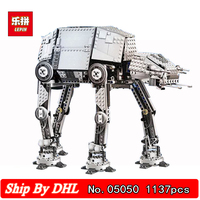 DHL LEPIN 05050 Movie series AT The Robot Behemoth 1137pcs Bricks Building Kits Children Toys Gift Compatible LegoINGs 75054