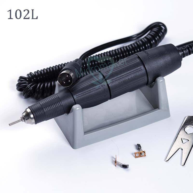 Dental Lab Hand piece for Micromotor 3,5000 35K RPM SAESHIN Polishing grinding machine handle 102L