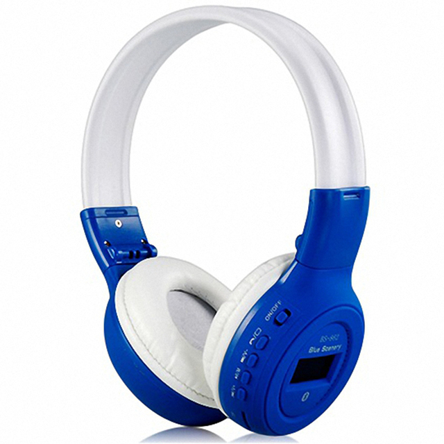 f7e4c1ec0f3 3 In 1 Luminous Wireless Headphones Bluetooth Headset Stereo Auriculares  with LCD screen FM radio TF