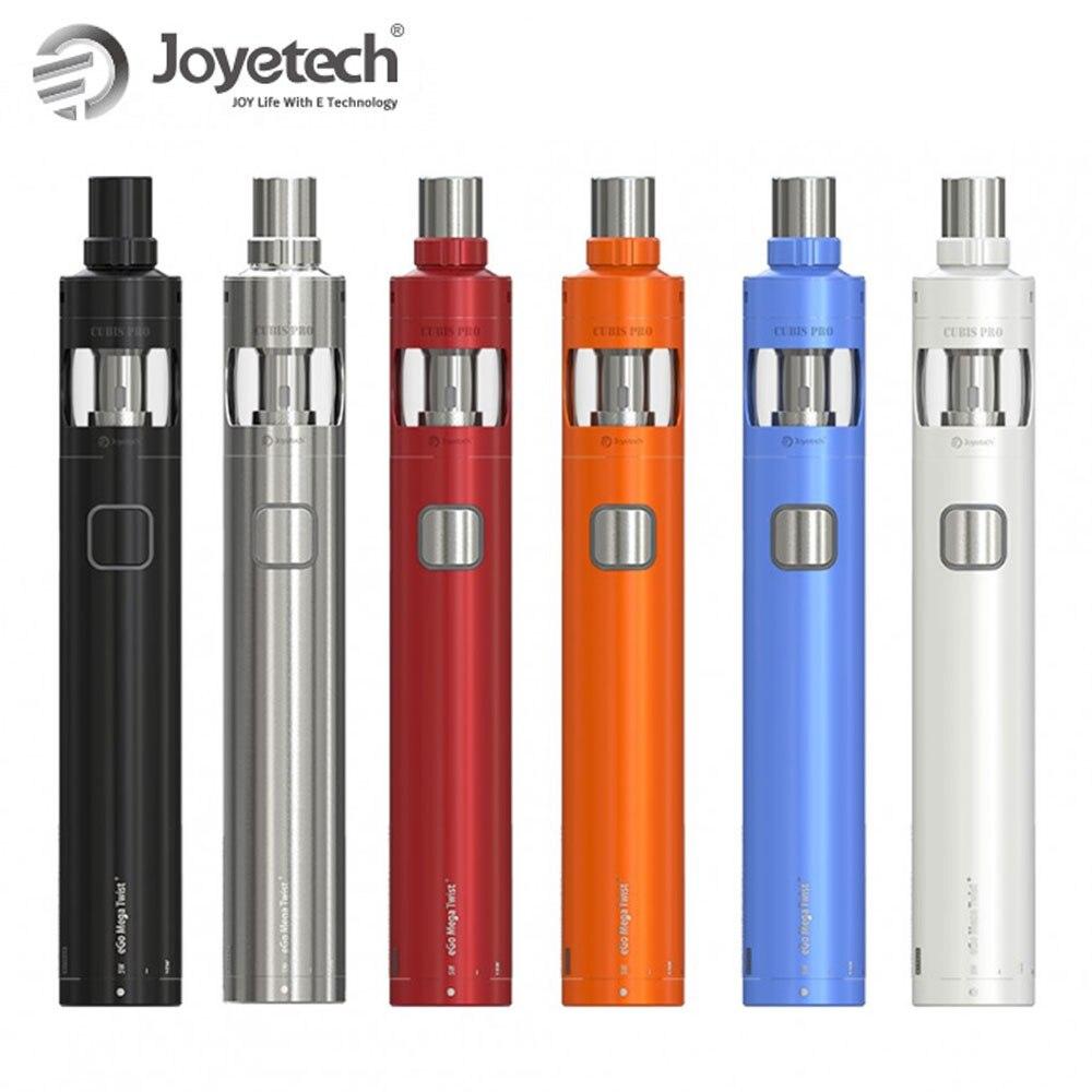 ¡Caliente! Original Joyetech eGo Mega Twist + Kit VW/BYPASS modo incorporado 2300 mAh batería 4 ml capacidad atomizador electrónico cigarrillo