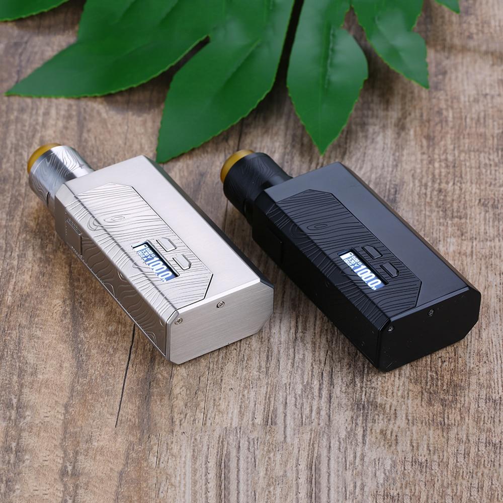 Kit de boîte MF Luxotic d'origine Wismec avec bouteille Squonk de 7ml et Guillotine Version 2 Kit de Vape de Cigarette électronique RDA VS BF Luxotic - 5