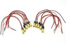 10 шт./лот инфракрасный лазерный диодный модуль 780nm 3 МВт с драйвером 6x10 мм DIY лабораторный лазер