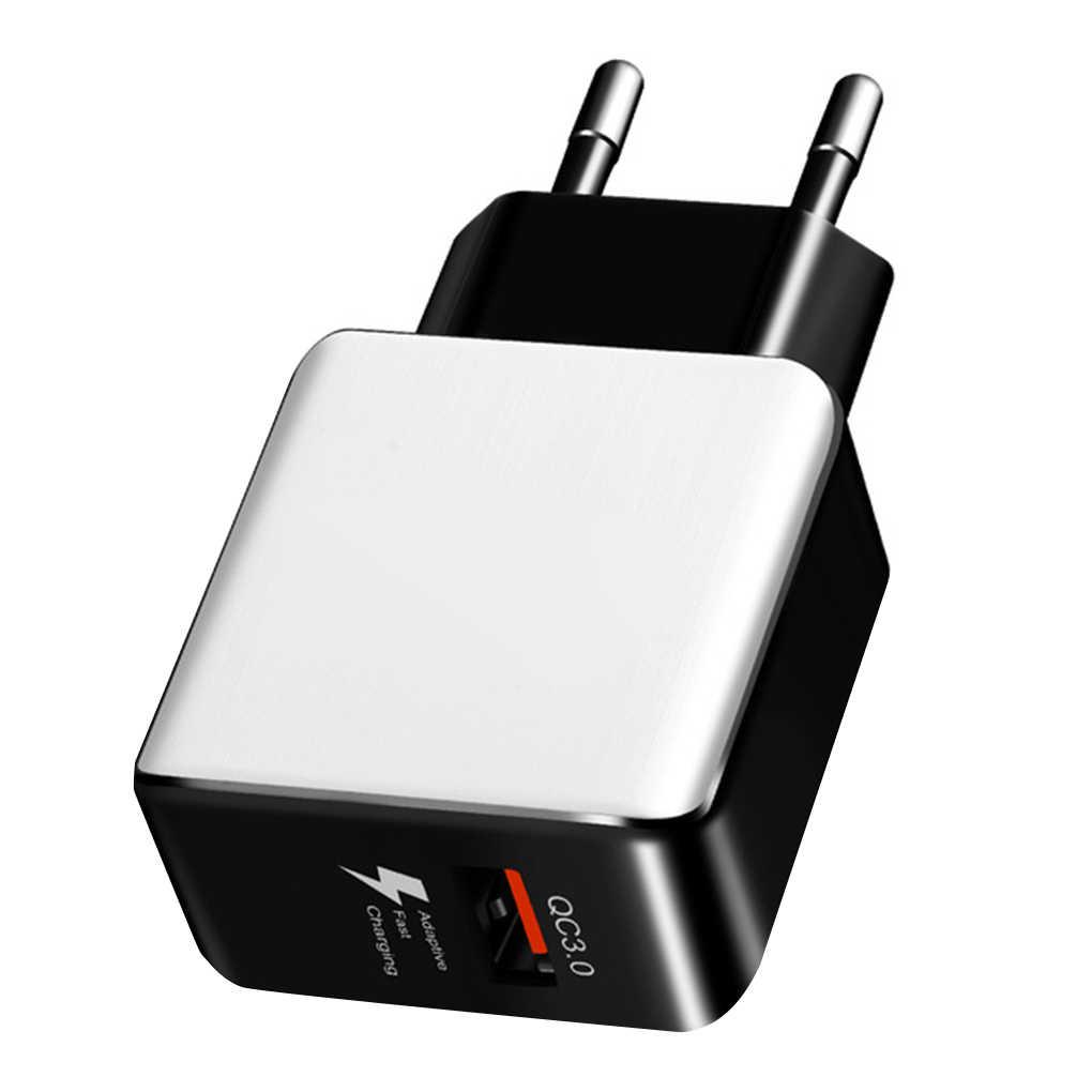 Ue wtyczka uniwersalna ładowarka USB szybkie ładowanie szybki Adapter ścienne mobilna tablet z funkcją telefonu PC ładowarka