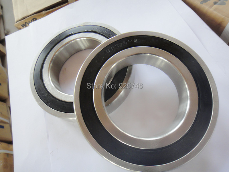 купить S6215 2rs Stainless Steel Shielded Miniature Ball Bearings size:75*130*25mm недорого