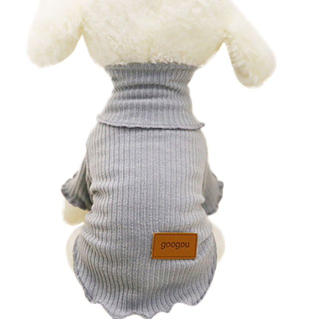 Fashion Pet Dog Puppy Classic Sweater Fleece Sweater Clothes Warm ...