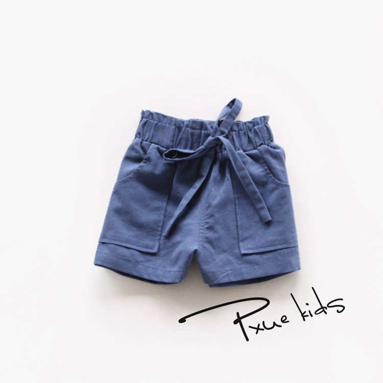 86ca522ef 2016 summer nununu kids bobo choses shorts for baby girls boys pants baby  bebe cute children shorts Brand cotton and linen Style