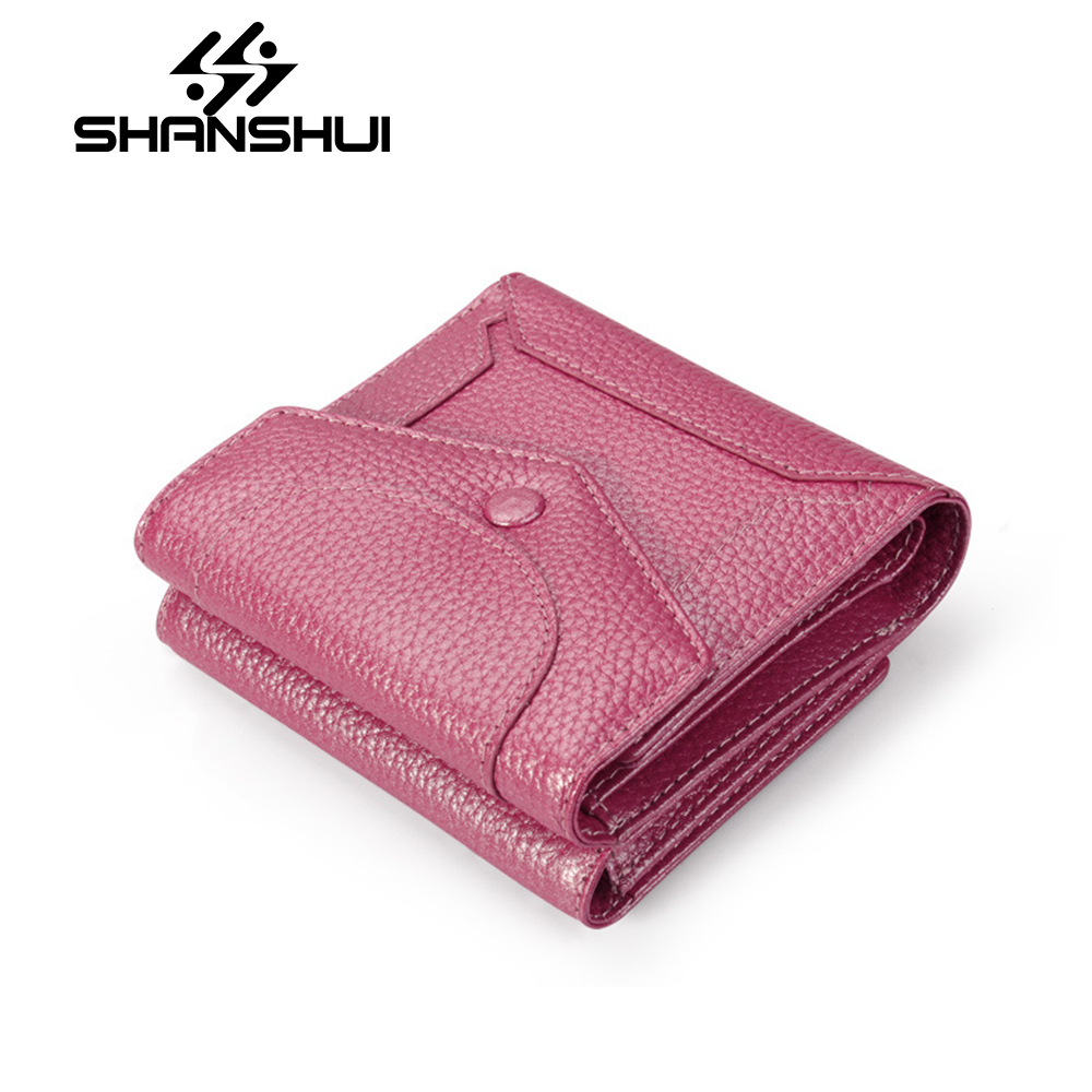 2018 Genuine Leather Women Wallet Female Zipper Coin Purse Luxury Brand Small Walet Card Holder Clamp For Money Bag Portomonee thinkthendo 3 color retro women lady purse zipper small wallet coin key holder case pouch bag new design