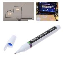 قلم حبر موصل الدائرة الإلكترونية رسم على الفور السحرية القلم الدائرة DIY بها بنفسك صانع طالب أطفال التعليم