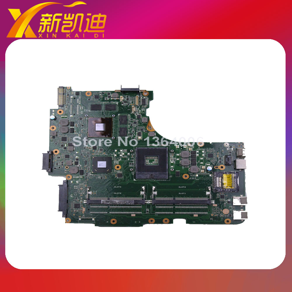 For ASUS N53SV N53SM N53SN Original laptop motherboard (mainboard) nvidia GT540M and 2 RAM slots Rev 2.0 1GB tested well original new for asus n43sl laptop motherboard rev 2 0 ddr3 hm65 gt540m 1g n12p gt a1 mainboard