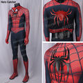 Hero Catcher High Quality NewRaimi Spiderman Costume 3D Spider Muscle Shade Adult Spiderman Suit Hero Spandex Adult Costume